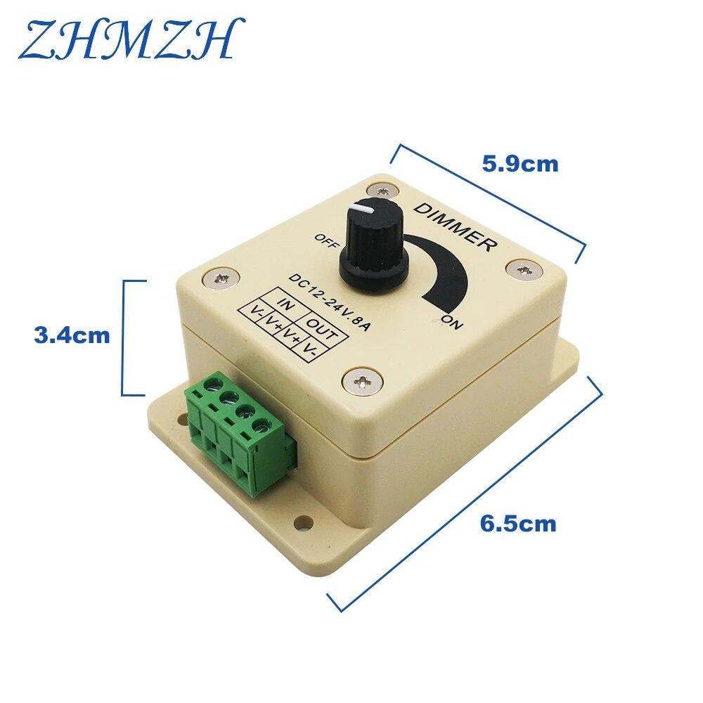 brilho controlador para luzes leds 03