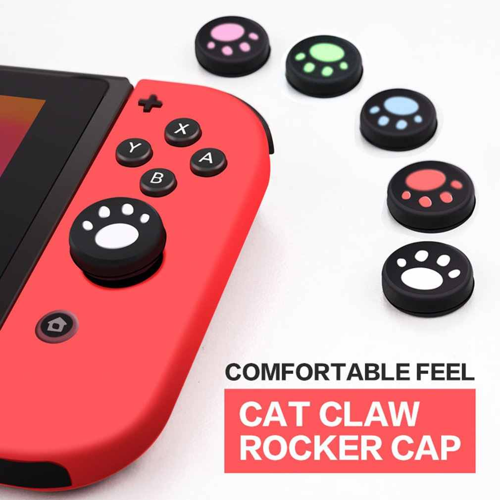 2 Pcs Thumbstick Grip Cap Joystick Analog Pelindung Penutup Tombol Pad Case untuk Sony PlayStation PS Vita PS Vita PSV 1000/2000 slim