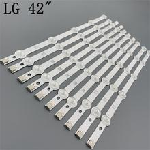 "LED شريط إضاءة خلفي بار ل LG 42 بوصة 42 ""ROW2.1 التلفزيون 6916L 1412A 6916L 1413A 6916L 1414A 6916L 1415A 42LN542V 42LN575S 42LA615V"