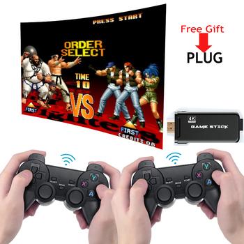 DATA FROG 4K HD gra wideo konsola 2 4G podwójny kontroler bezprzewodowy dla PS1 GBA klasyczna Retro konsola do gier TV 64GB 10000 gier tanie i dobre opinie BOYHOM CN (pochodzenie) 7 0 cali