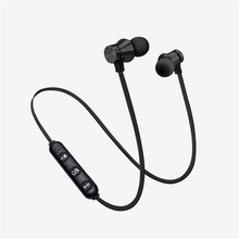 New Wireless Magnetic XT11 Bluetooth Earphones Stereo Headset Earpieces Mini Earbuds for Iphone X Samsung S6 S8 Xiaomi Huawei baseus s01 bluetooth earphone wireless headsets for iphone samsung xiaomi magnetic switch earbuds auricular bluetooth earpieces