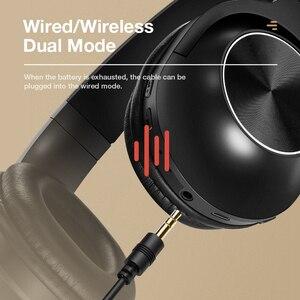 Image 5 - SANLEPUSใหม่หูฟังไร้สายบลูทูธชุดหูฟังสเตอริโอหูฟังหูฟังพร้อมไมโครโฟนสำหรับโทรศัพท์มือถือPC