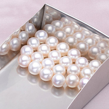 Wholesale Natural Round Freshwater Pearl 5pair white AAA Grade 5mm-5.5mm Jewelry