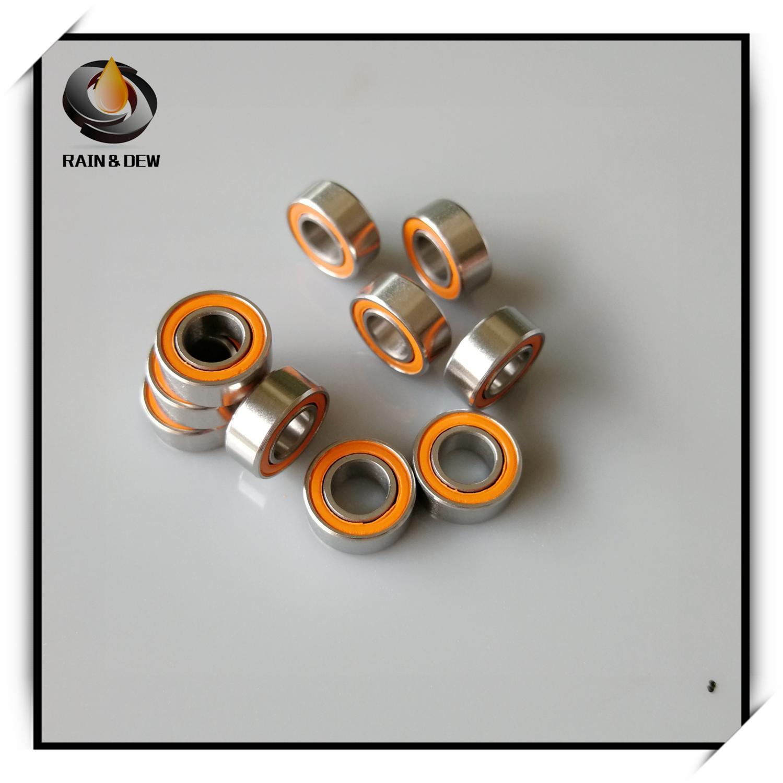 1Pcs  5x10x4 Mm Antirust Ball Bearings  SMR105 2OS 2RS ABEC7 Stainless Steel Hybrid Ceramic Fishing Reel Shaft Bearings MR105