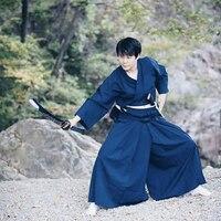 Martial Arts Clothing Kendo Uniforms 2 Piece Sets Kendo Aikido Hapkido Martial Arts Keikogi and Hakama Suit Men Women Adult