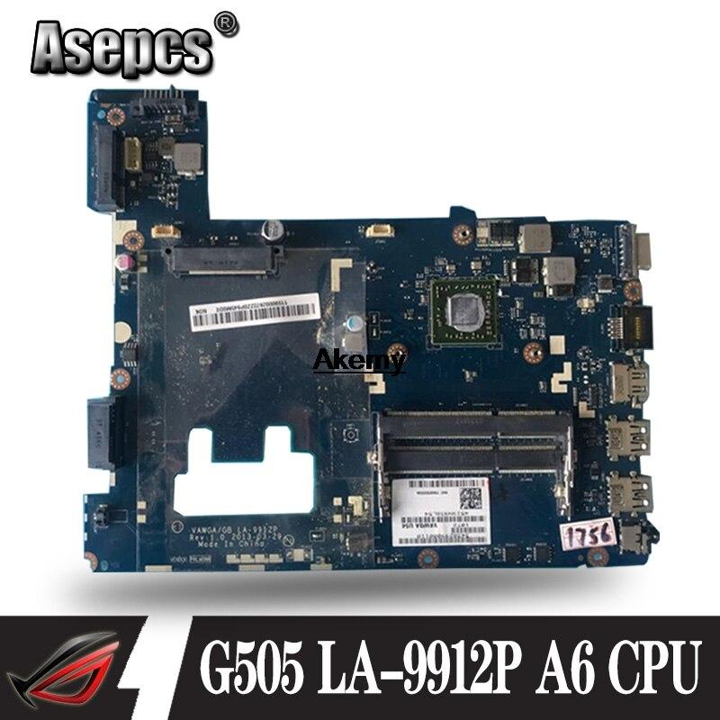 La 9912p G505 Motherboard For Lenovo G505 La 9912p Laptop Motherboard For Amd A6 Cpu Motherboard Test Ok Buy At The Price Of 69 00 In Aliexpress Com Imall Com