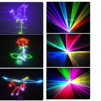 animation writing rgb laser light show projector,ilda dmx dj laser light 1.5w rgb