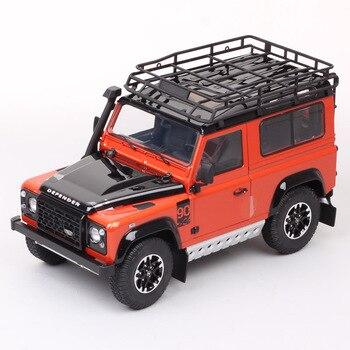 Merken Kinderen 1/18 Schaal Grote Kyosho De Defender 90 Off Road Voertuig Diecast Model Auto Metalen Speelgoed Hobby Geschenk voor Collection