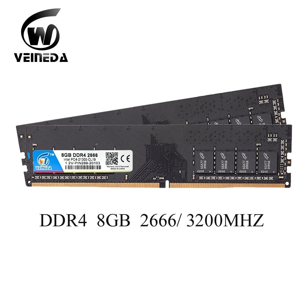 Dimm Ram DDR4 4gb 8gb 16gb 2400 2666 3200 PC4 17000 288pin Memory Ram For All