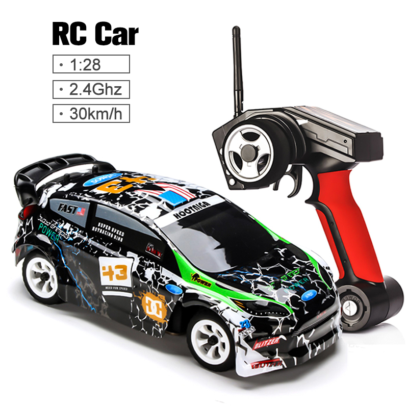 Wltoys K989 1/28 2.4G 4WD Car Brushed RC Remote Control Car Racing Car RTR Drift Alloy Off Road Car Crawler Toys Models