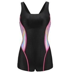 Image 4 - Riseado Racer powrót jednoczęściowy strój kąpielowy 2020 stroje kąpielowe kobiety Sport konkurencyjne stroje kąpielowe dla kobiet Patchwork stroje kąpielowe