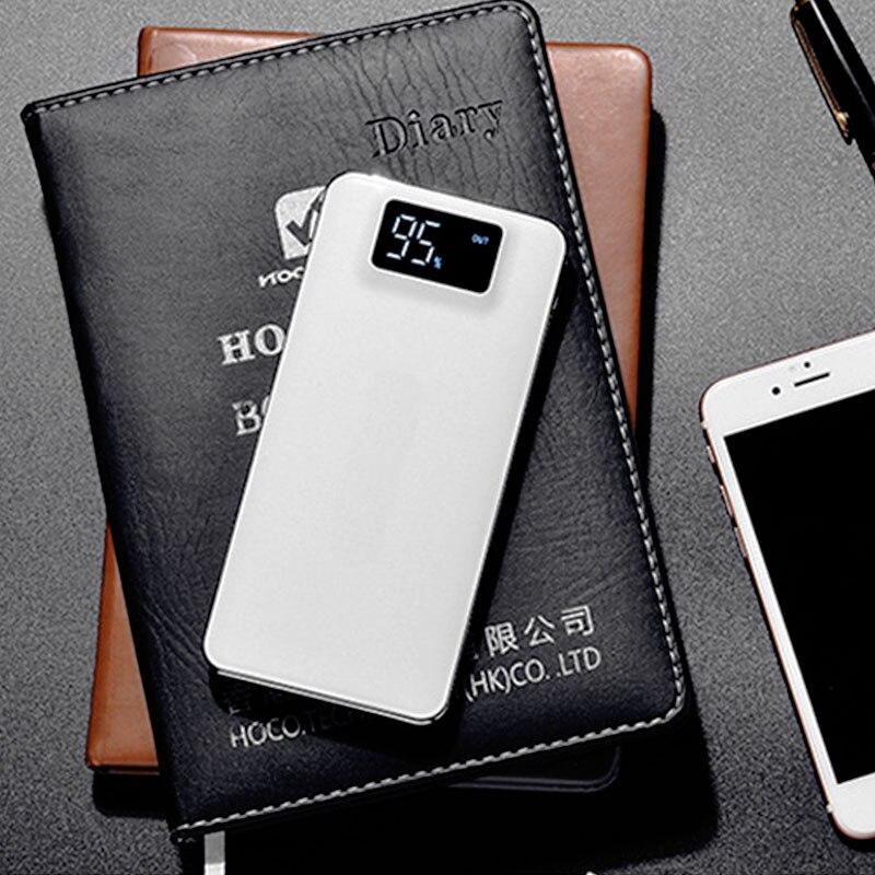 2019 новый внешний аккумулятор 30000 мАч для Xiaomi Mi lLED 2 USB внешний аккумулятор портативное зарядное устройство Внешний аккумулятор для iPhone 7 6 5 4 X