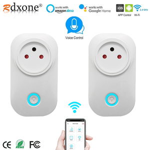 Image 1 - Israel  Wifi Socket 10A Smart Plug Works With Alexa Google Home ,Smart Life APP, Only Supports 2.4GHz Network