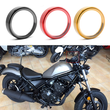 Areyourshop For Honda Rebel CMX 500 300 CMX300 CMX500 2017 2018 2019 Speed Meter Techometer Speedometer Cover Guard Ring Frame image