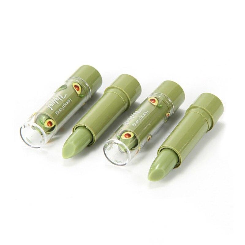 2 шт влага авокадо бальзам для губ бархат желе матовое натуральное бальзам для губ Температура помада с изменением цвета длительное питание...