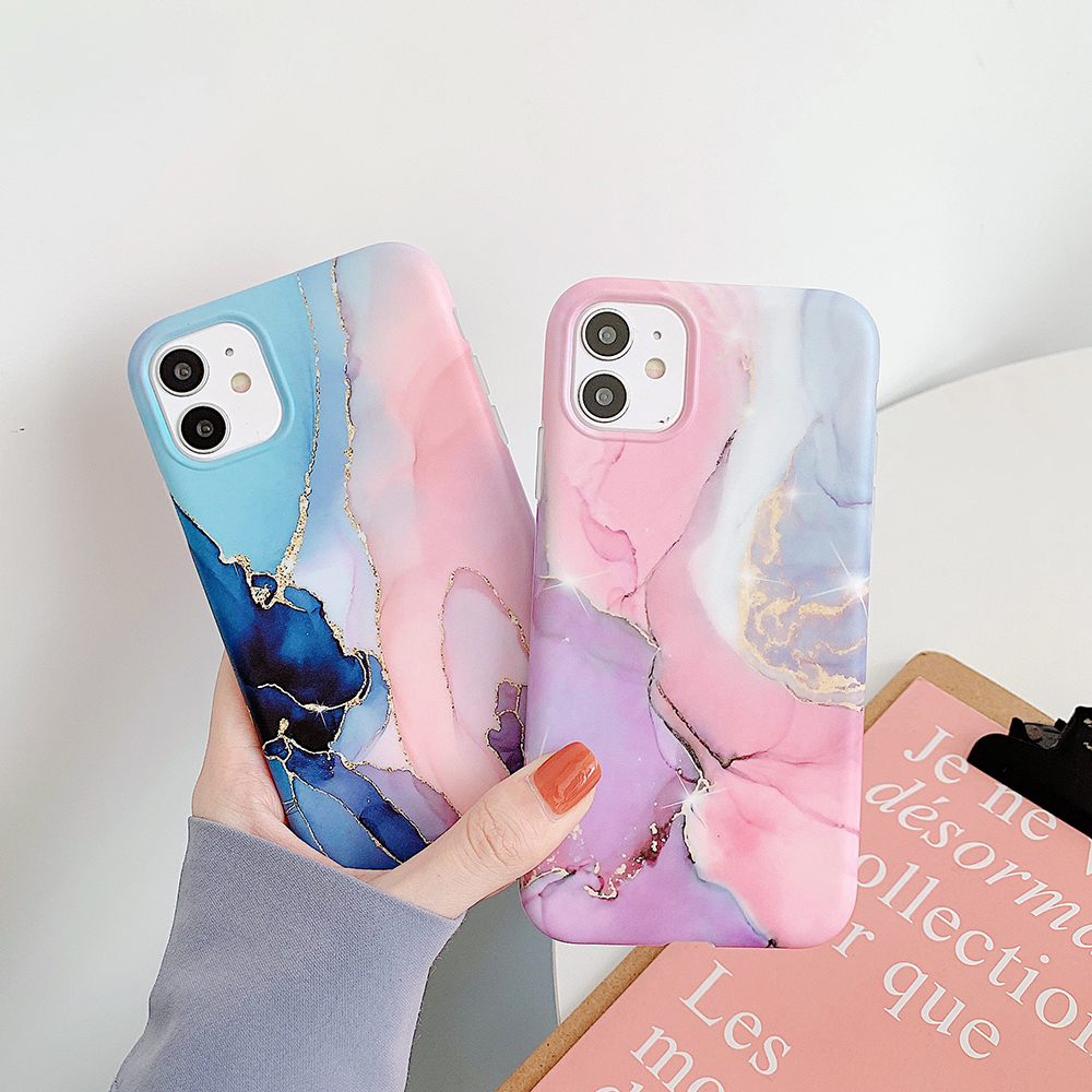 2020 HOT Symphony Marble Soft Case For iPhone 11 Pro Max XS Max XR X iPhone11 iPhone8 Phone SE 7 8 Plus Protective CASE Cover