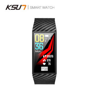 Image 4 - KSUN KSS701 스마트 시계 피트니스 팔찌 MiBand 밴드 3 빅 터치 스크린 OLED 메시지 심박수 시간 Smartband