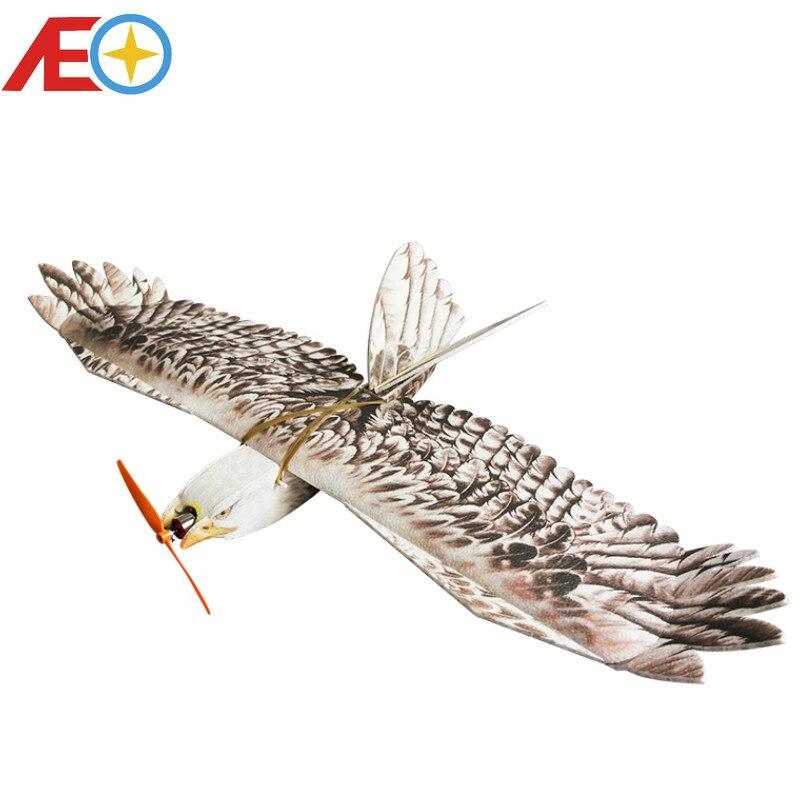 Oyuncaklar ve Hobi Ürünleri'ten RC Uçaklar'de RC Uçak Ücretsiz Kargo EPP Uçak Modeli Mini Kartal RC Kanat Açıklığı 1200mm Kartal EPP Yavaş Flyer'da  Grup 1