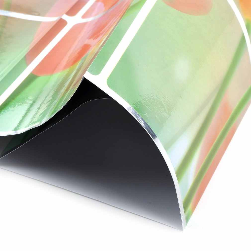ขายส่งกันน้ำ 75*45 ซม.รูปแบบดอกไม้อลูมิเนียมทองแดงฟอยล์สติกเกอร์น้ำมัน PROOF KITCHEN Wall Decal ตกแต่งรูปแบบ