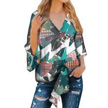 wholesale Hot Sale Christmas style Print Women Plus