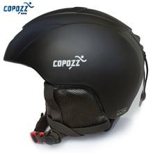 COPOZZ мужской женский лыжный шлем защитный лыжный шлем цельно-Формованный спортивный скейтборд лыжный сноуборд шлем