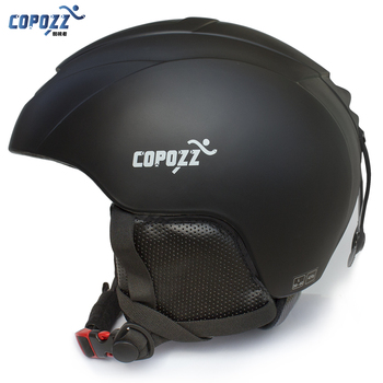 COPOZZ Men Women Ski Helmet Protective Skiing Helmet Integrally-molded Sports Skating Skateboard  Ski Snowboard Helmet high quality ski snowboard helmet pc eps skiing helmet for adult and kids snow helmet safety skateboard helmet