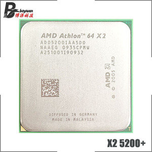 AMD Athlon 64 X2 5200+ X2 5200 2.7 GHz Dual-Core CPU Processor ADO5200IAA5DO Socket AM2