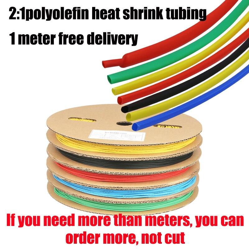 heatshrink Tubos Sleeving Cableado Rojo CALOR SHRINK TUBO en la manga con relación 2:1 25,4 mm