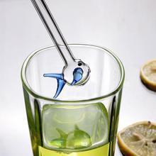Drinking-Straw-Kit Water-Fish-Glass Reusable Lovely Party Cute Frozen Smoothie-Juice