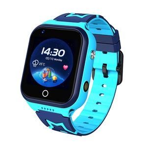 M60 crianças relógio inteligente moda crianças android relógio hd chamada de vídeo gps preciso locatorsmart cartão sim 4g