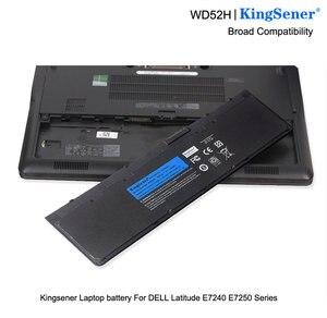 Image 5 - Bateria de computador portátil kingsener, bateria para dell latitude e7240 e7250 w57cv 0w57cv gvd76 vfv59 7.4v 45wh