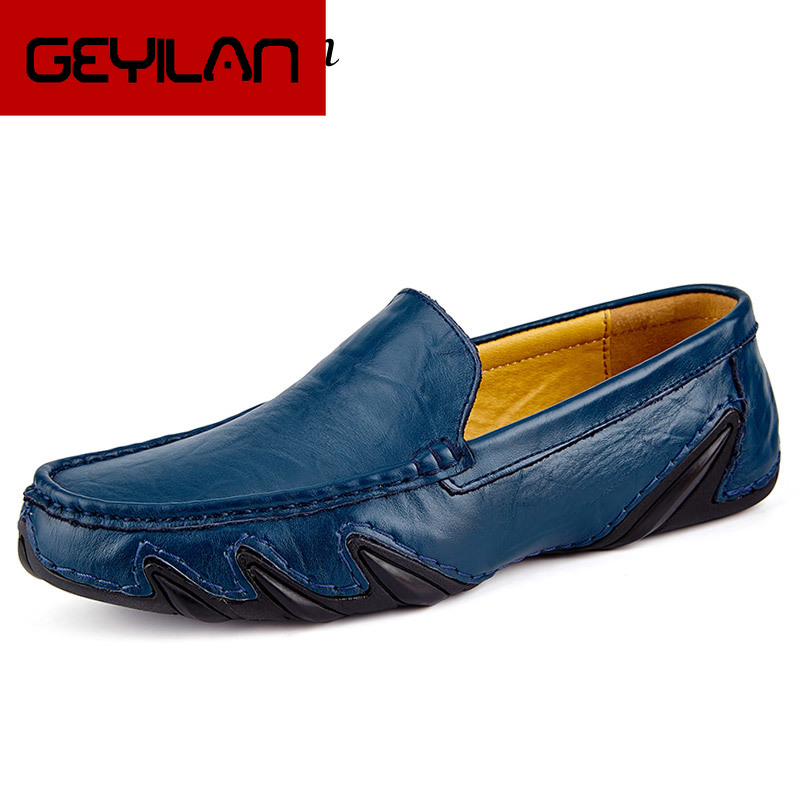 Casual Men Leather Shoes Boat Man's