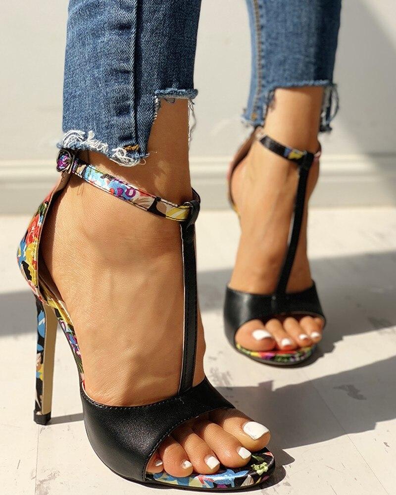 Womens Fashion Summer Sexy Exquisite 10cm High Heels Ladies Increased Stiletto Super High Heel Sandals Zapatos De Mujer Pumps