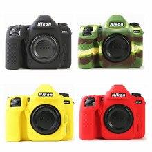 Pancerz silikonowy skórzane etui obudowa ochronna do aparatu cyfrowego Nikon D780