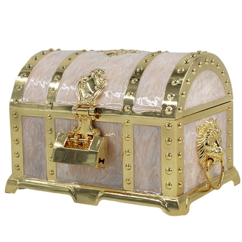 Jewelry Box Retro Craft with Lock Jewelry