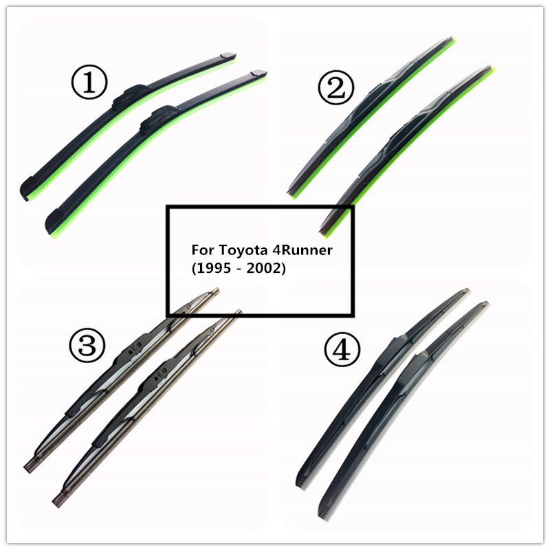 LUYA Four kinds of Wiper Blade Car windshield wiper For <font><b>Toyota</b></font> <font><b>4Runner</b></font> (1995 - <font><b>2002</b></font>) size:24