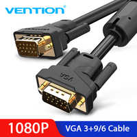 Vention 1080P VGA Cable Male to Male VGA Digital Video Cable 8m 5m 3m 3m 2m 1m Cable for HDTV Projector Monitor Computer