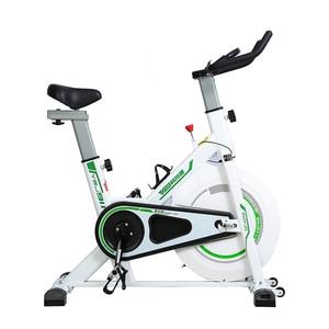 Image 4 - エアロバイク家庭用超静音屋内減量ペダルエアロバイクを回転自転車フィットネス機器