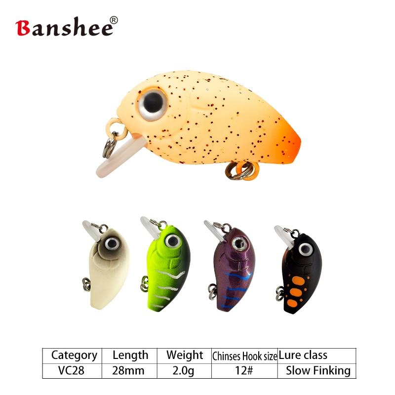 Banshee  Mini Crankbaits  sinking Wobbler 3