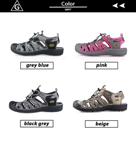 Image 3 - GRITION Women Sandals Beach Summer Breathable Toecap Sport Outdoor Shoes Lightweight Rubber Female Casual Comfort Hiking Sandals