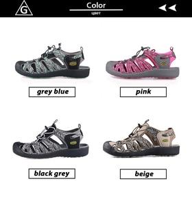Image 3 - Gritation sandales de plage pour femmes, chaussures dextérieur, respirantes, de Sport, en caoutchouc, légères, de randonnée, décontracté