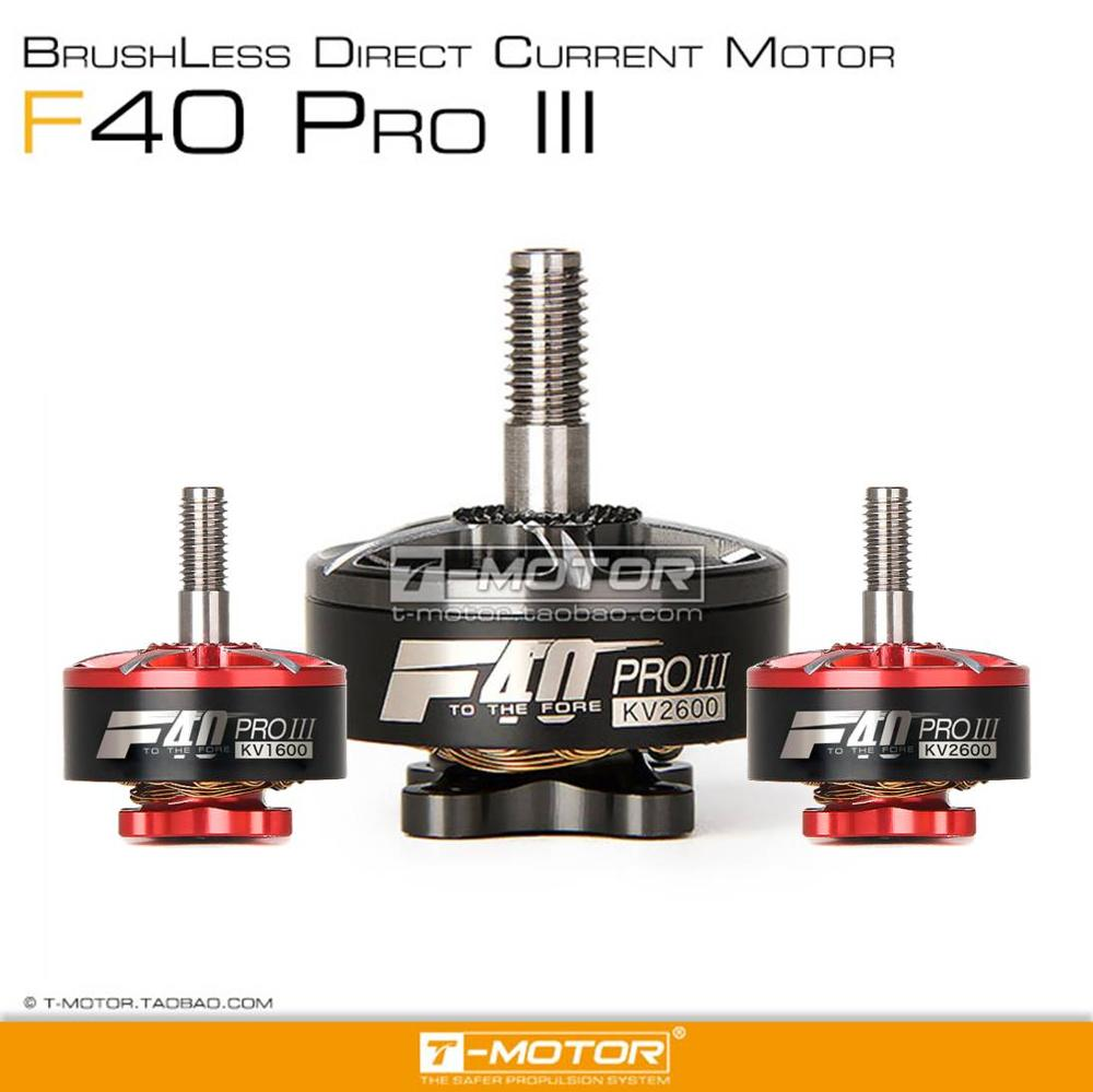 New Arrival T-motor Tmotor F40 PRO III 2306 1600/2400/2600kv Brushless Electrical Motor For FPV Racing Drone FPV Freestyle Frame