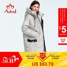 Astrid 2019 Winter Nieuwe Aankomst Down Jas Vrouwen Losse Kleding Bovenkleding Kwaliteit Met Een Kap Mode Stijl Winter Jas AR 7038