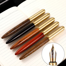 Wood Iraurita Fountain Pen ink pen nib 0.7mm High Quality Caneta tinteiro Stationery Penna stilografica Vulpen Pluma 03839