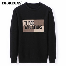COODRONY Brand Sweater Men Fashion pattern Knitwear Pull Homme 2019 Autumn Winter Soft Warm Cotton Pullover Jersey Hombre C1019
