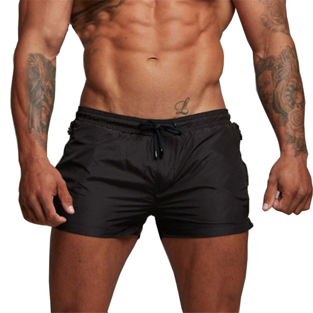 2020 Summer Swimwear Men Swimsuit Swimming Trunks Boxer Short Sexy Mens Swim Briefs Beach Shorts Surf Board mayo Wear sunga Suit