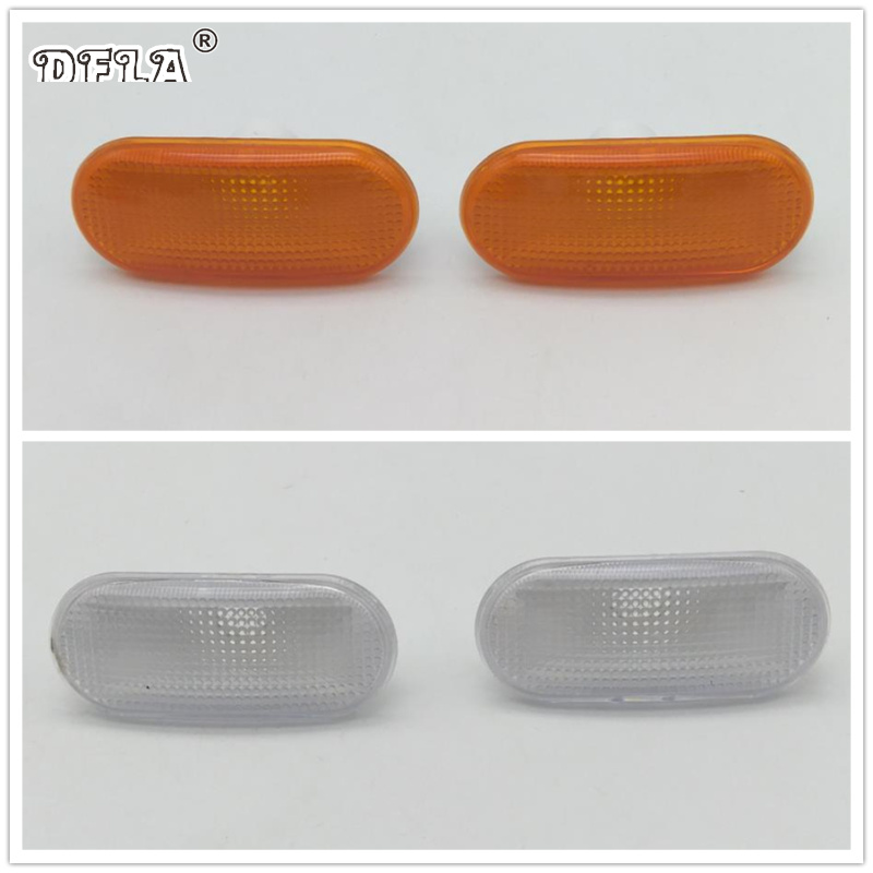 For Skoda Felicia Pick Up 1995 1996 1997 1998 1999 2000 2001 Car-Styling Side Marker Turn Signal Light Lamp Repeater