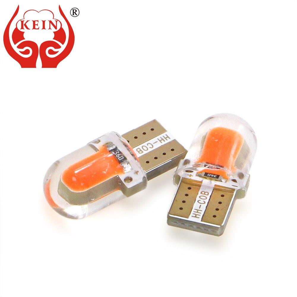 2x white amber LED Parking position signal Light bulb For Honda ACCORD 2003-2016