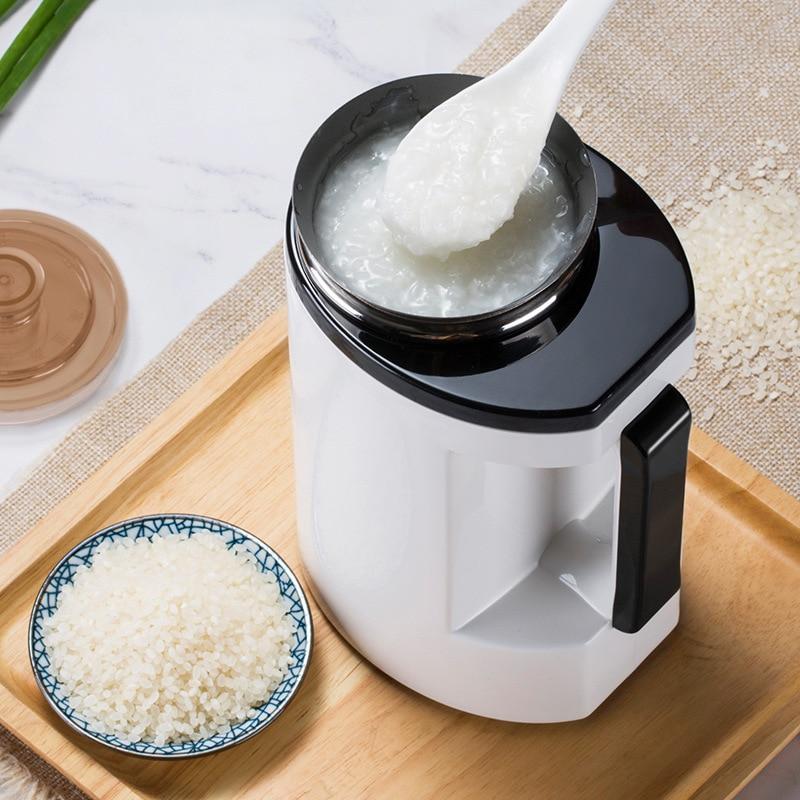 220V Electric Kettle Multicooker Porridge Soup Pot Slow Cooker Insulation Health Preserving Pot Porridge Machine 500ml