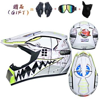 Motor Bike Cross Racing Motorcycle Helmet Safety Enduro Capacete Motorrad Cascos Downhill Bicycle Engine Cafe Racer ATV Helmets 21
